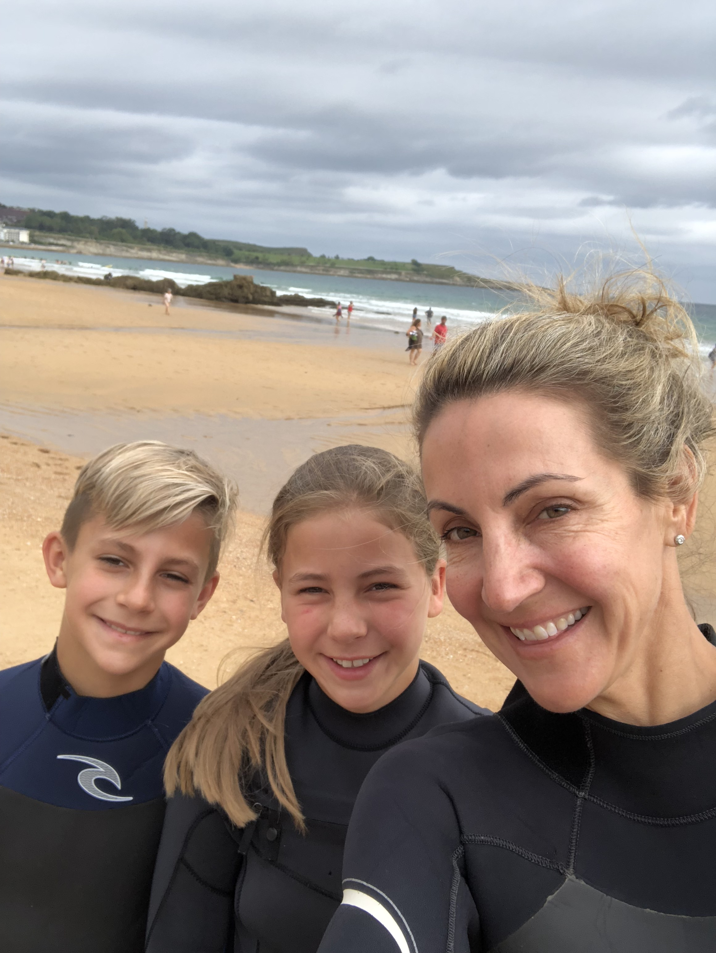 A family who surfs together... -