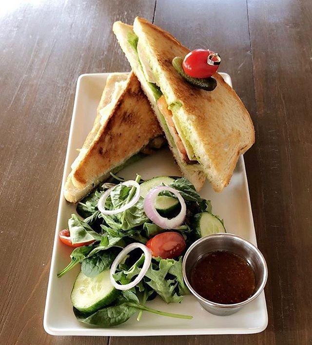 ✨ Our regular hours for the season has started! WE ARE OPEN AT 11am TODAY and we will be serving up a sandwich & salad lunch special everyday throughout the week in addition to our regular menu! ✨