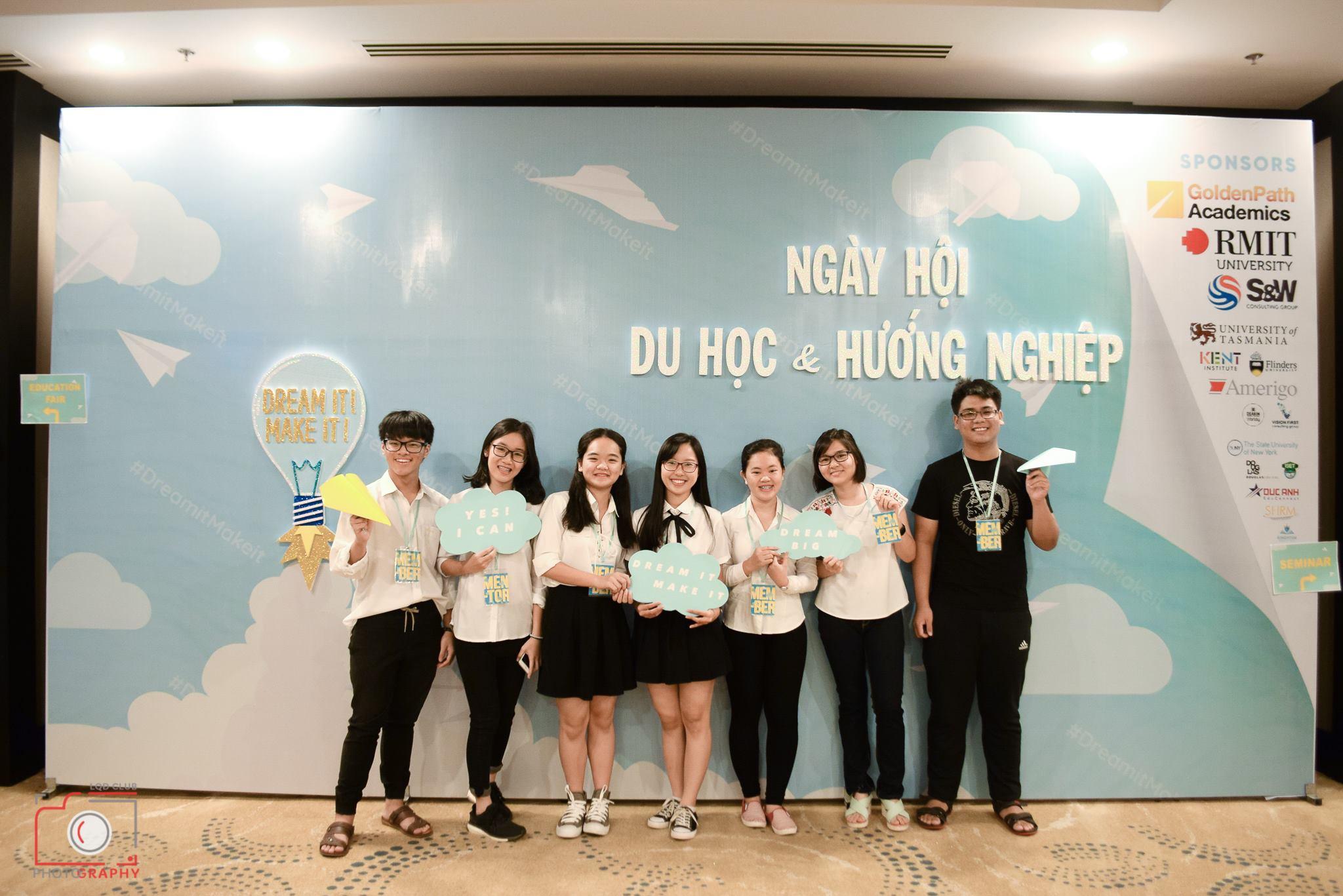 Ngày hội du học & hướng nghiệp tại thành phố Vũng Tàu do tổ chức OAV (Oversea Alumni in Vungtau) 2017