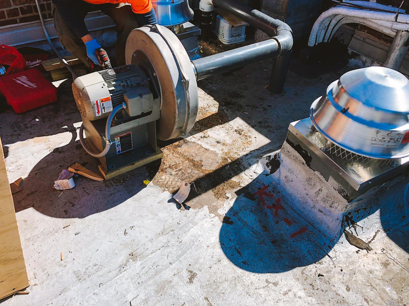 Remediation Mitigation Design for Institutional Renovation