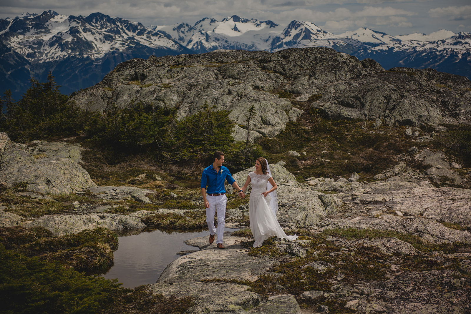 Whistler Elopements photo by Logan Swayze photography
