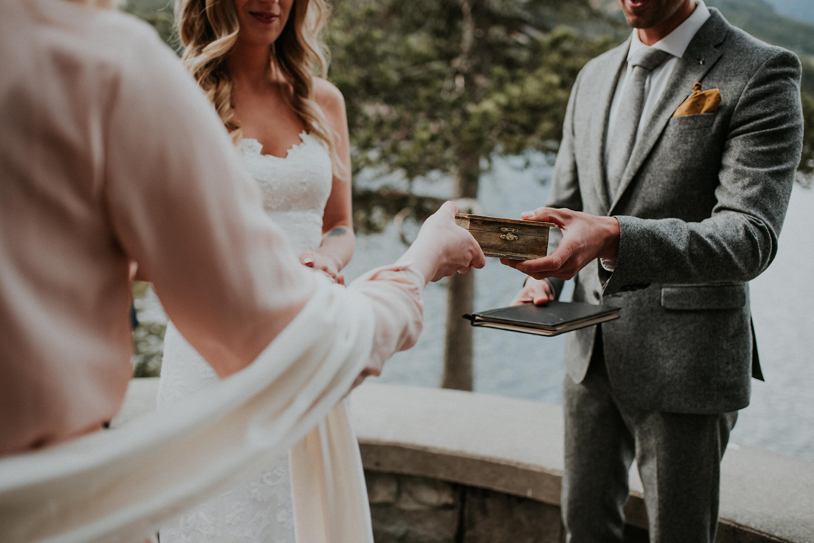 Whistler Wedding Officiant - Photo by Darby Magill