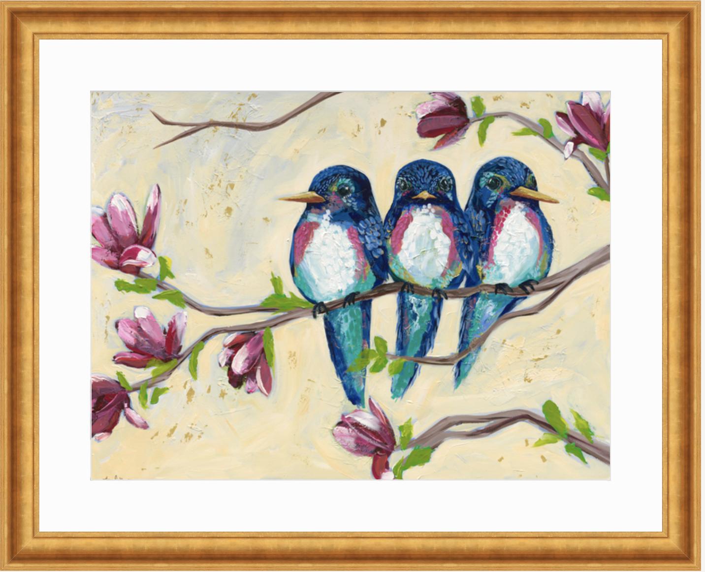 Three little birds -