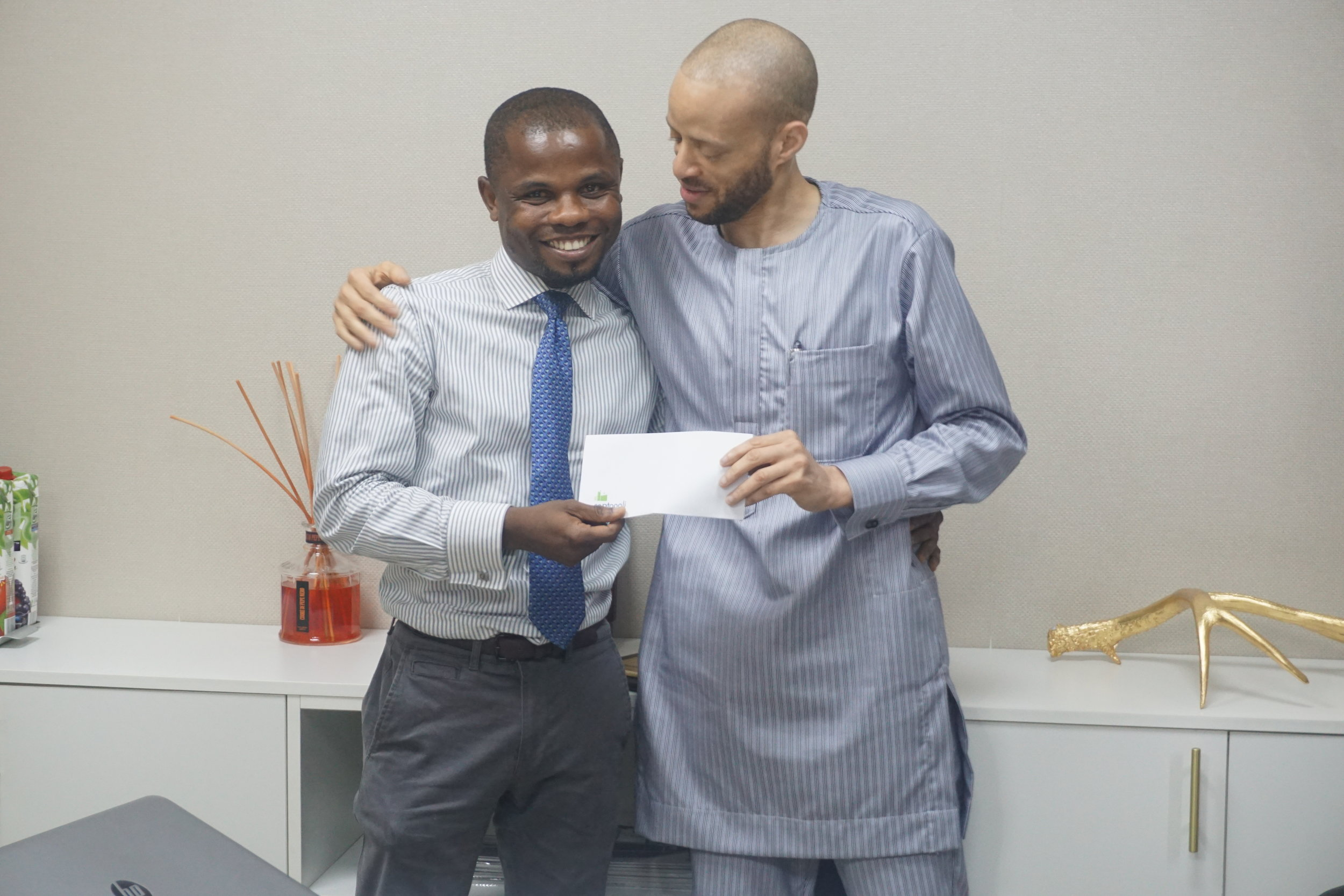 Mr Olalekan Olaniyi and the M.D 2.JPG