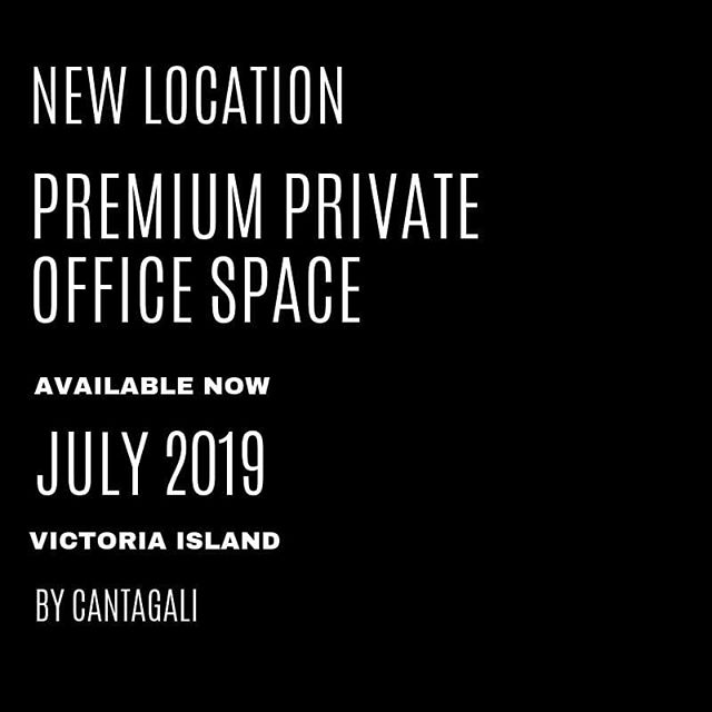 We're pleased to announce our new @cantagalicowork location is now available for lease.  Looking for the perfect premium office space located in Victoria Island?  Learn more at  cantagali.com #lagosoffice #wheninlagos  #byCantagali