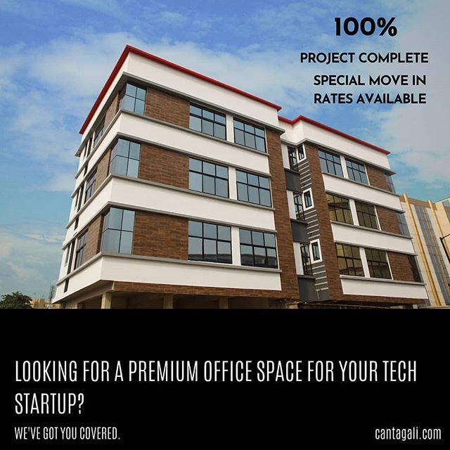 We're pleased to announce Tesmot is available for immediate move in.  #officespace  Cantagali.com Reposted from @cantagali