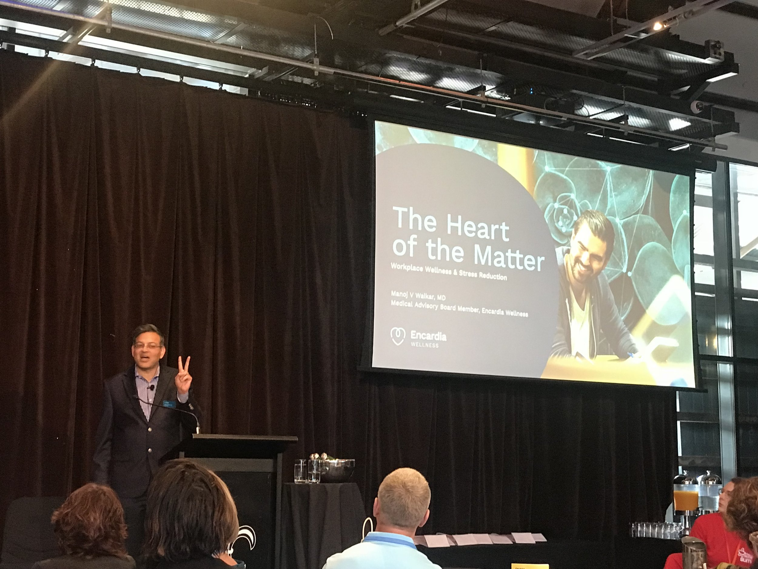 Dr Manjoj Waikar from Encardia Wellness on The Heart of the Matter