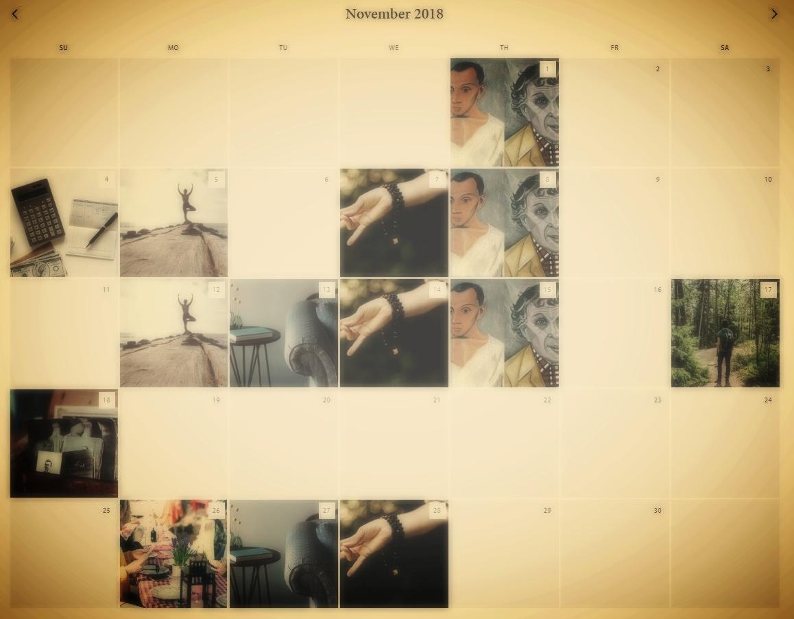 Calendar & Upcoming Activities -
