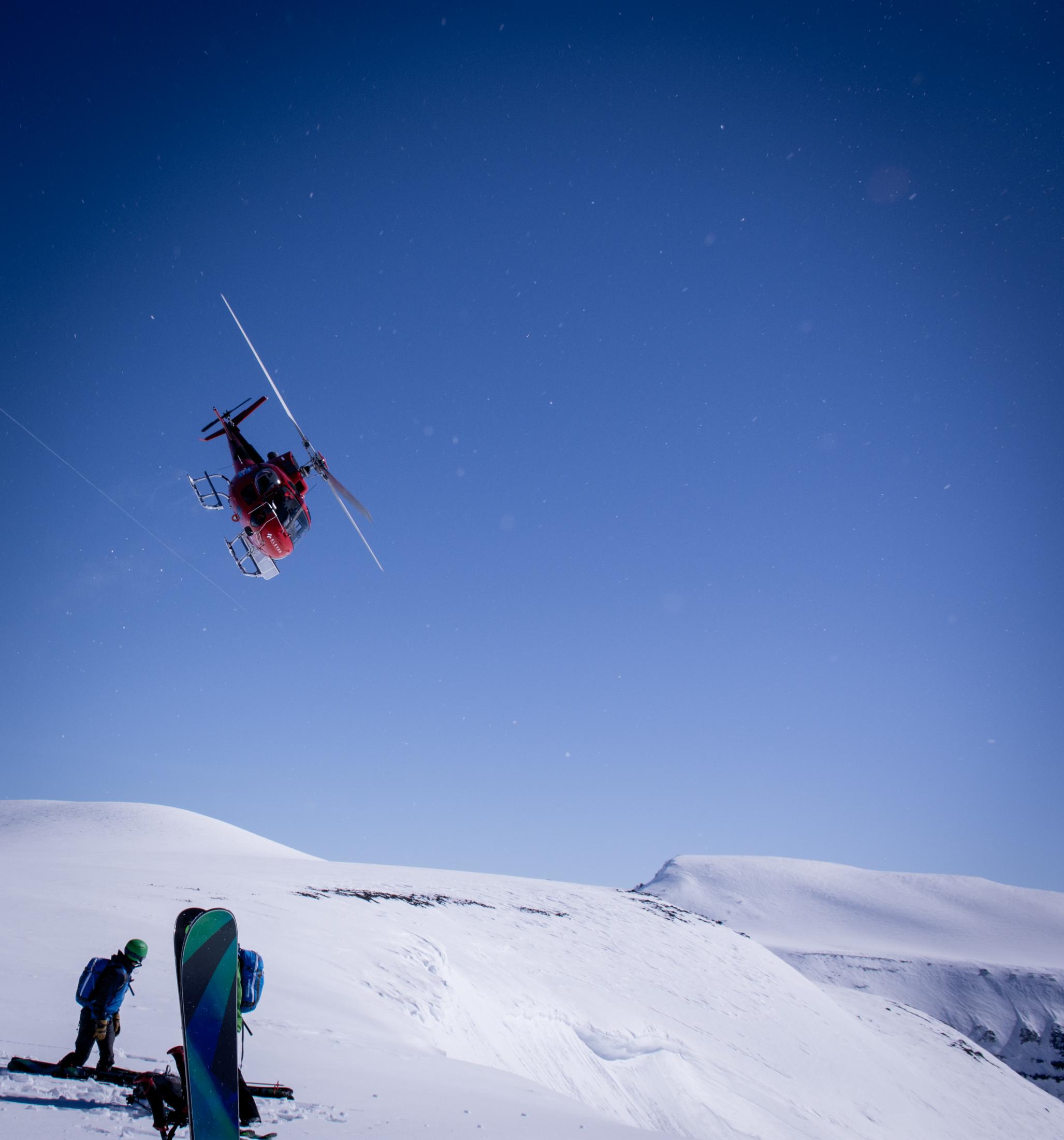 Private Clubs: Heli-Skiing Iceland's Troll Peninsula