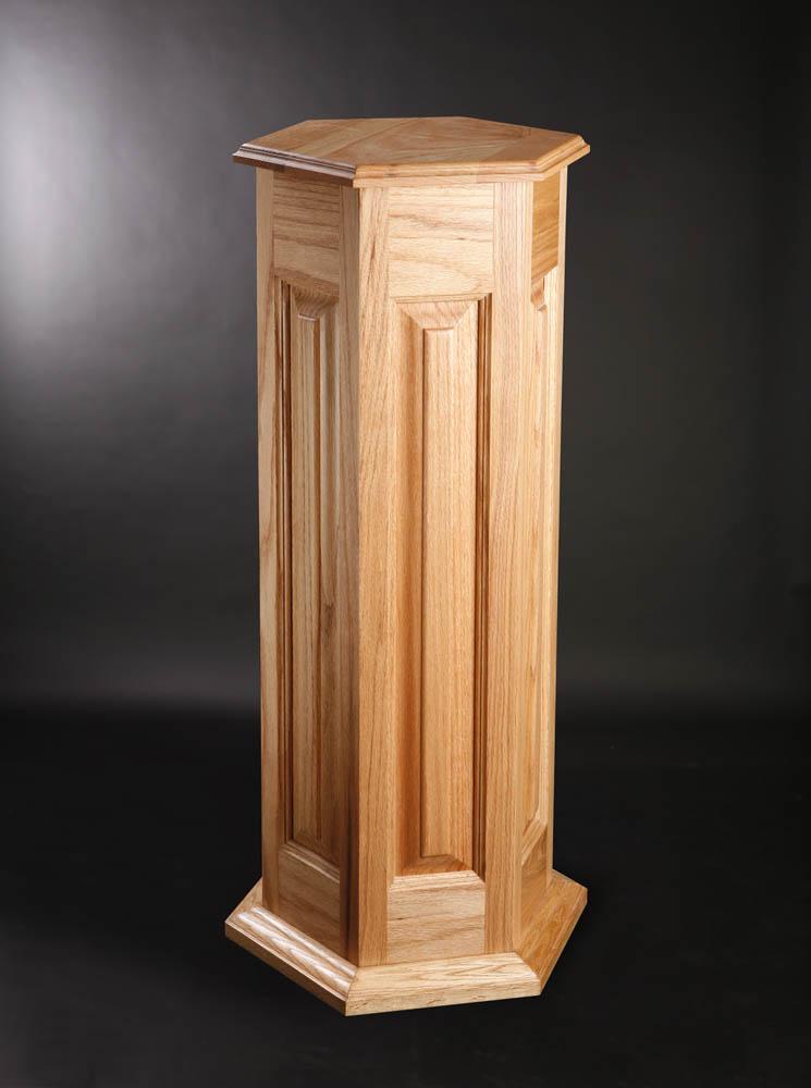 Hex Oak Pedestal.jpg