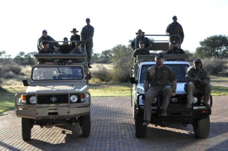 Hunt Sout Africa Kalahari Lion hunting100.jpg