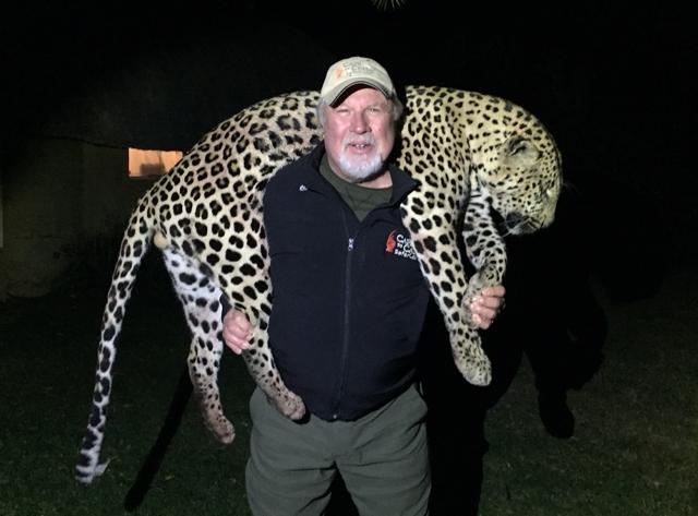 Hunt in africa- leopard hunt