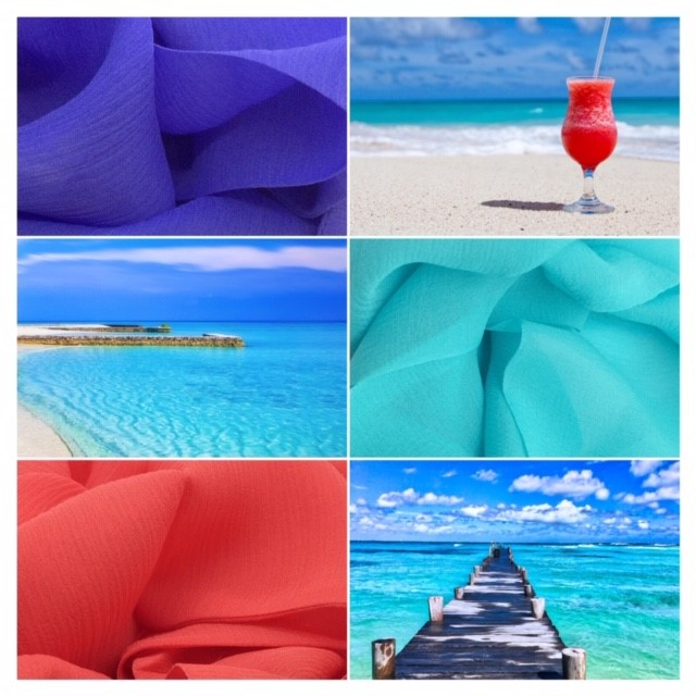 Wear colours that make you smile & every day becomes a holiday ... -