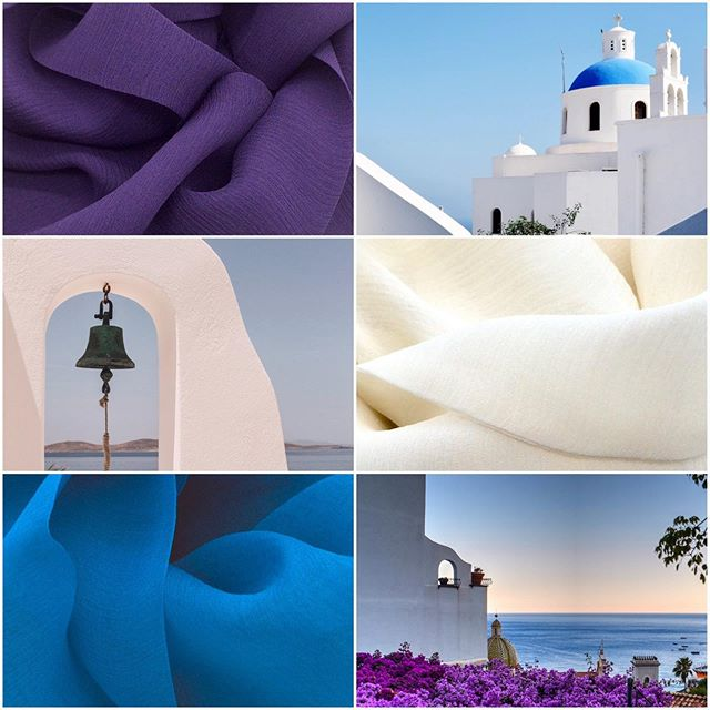 For those packed and on your way, For those of you who stay,  And all who need cheering, after returning ... have a super day!  A cool colour combi of Royal Purple, Soft White and Chinese Blue - all with matching earrings. Link to shop in profile.  And, you might like to try this to cool down ... roll your tongue and breathe in through your mouth (the air will feel cool) and slowly breath out through your nose. Repeat. 🥵😯🤔😅 Did it work? Any other suggestions? . . . . . . . #threecolours #colourcombinations #colourcombo #colourmatch #colourmatching #colourmakesmehappy #coloursoftheday #instacolourful #dailydoseofcolour #doseofcolours #scarfshop #scarvesfordays #scarflove #scarfaddict #scarfaddiction #summerscarf #summeraccessories #holidayaccessories #colourcolourlovers #colourlovers #accessoriesmaketheoutfit #ihavethisthingwithcolour #wearcolour #dresscolourfully #silkscarfs #holidaylook #holidaylooks #holidayinstyle #stylesummer #summerfashion2019