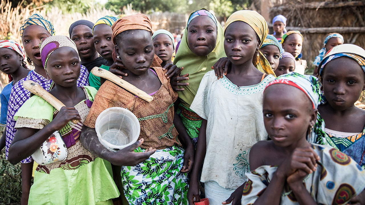 About  27.2 percent  of school age girls in Nigeria are currently not enrolled.  The education deprivation in northern Nigeria is driven by various factors, including economic barriers and socio-cultural norms and practices that discourage attendance in formal education, especially for girls.  https://www.unicef.org/nigeria/education