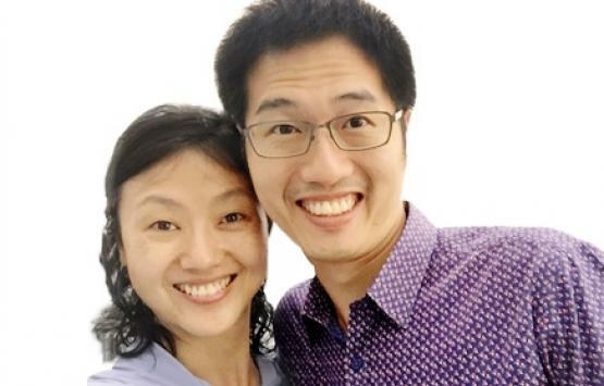 Eugene Lim, married to Kay