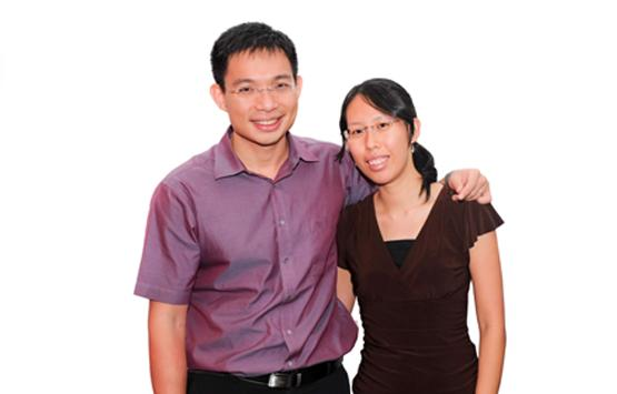 Seow Aik Keong, married to Denise