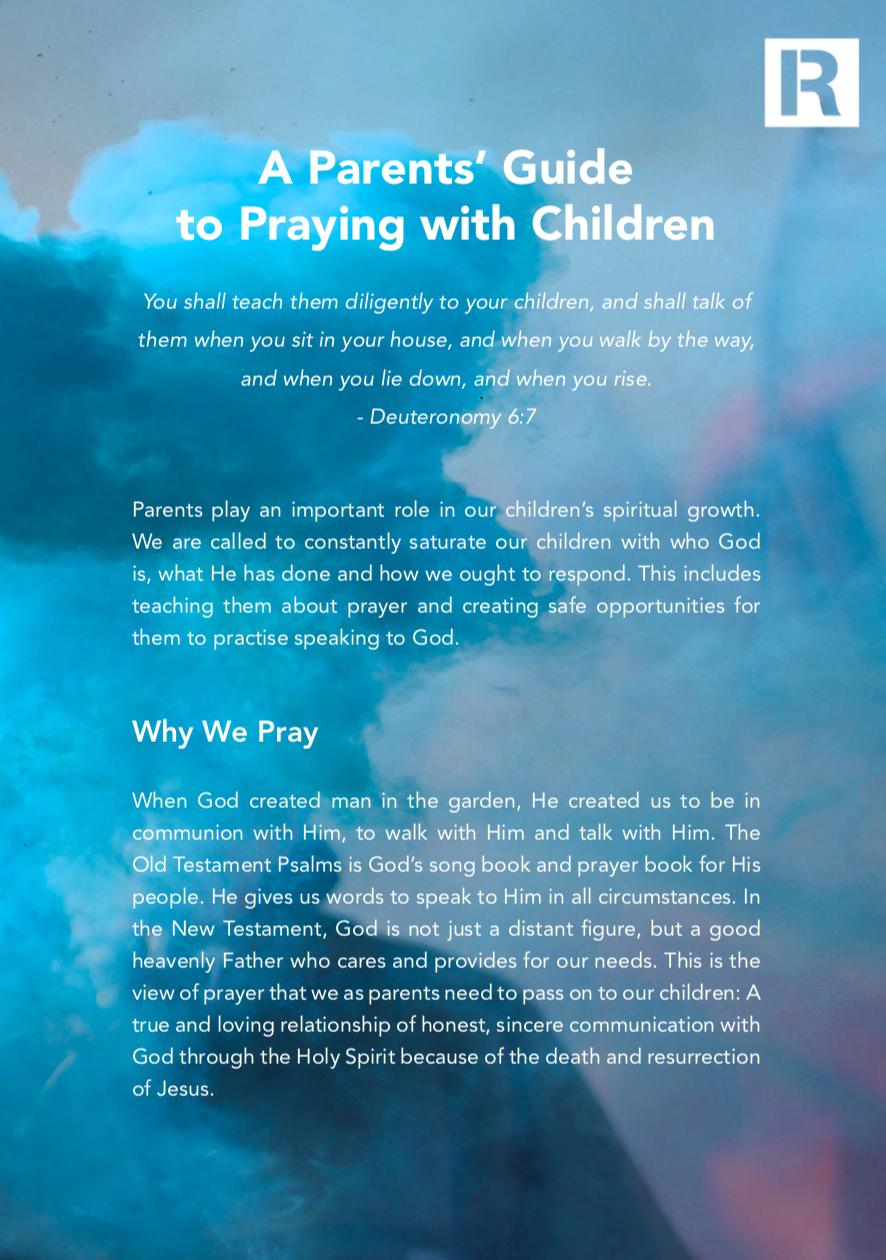 Parent's Prayer Guide PDF