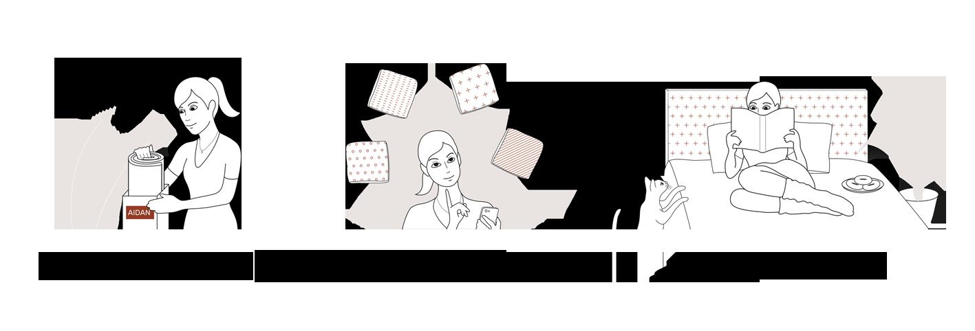 Le concept des têtes-de-lit AIDAN
