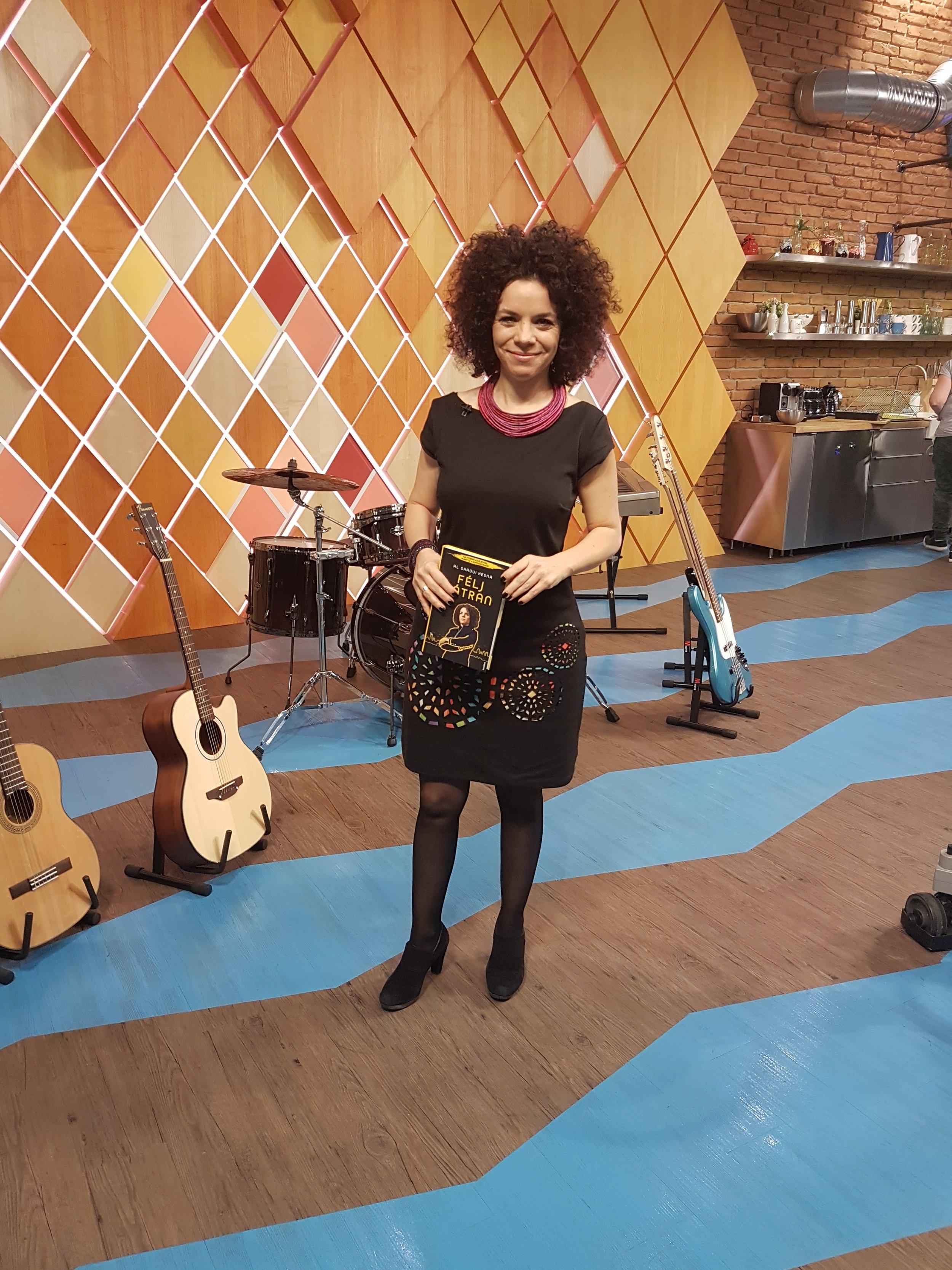 Az RTL Klub reggeli műsorában meséltem a Félj bátranról