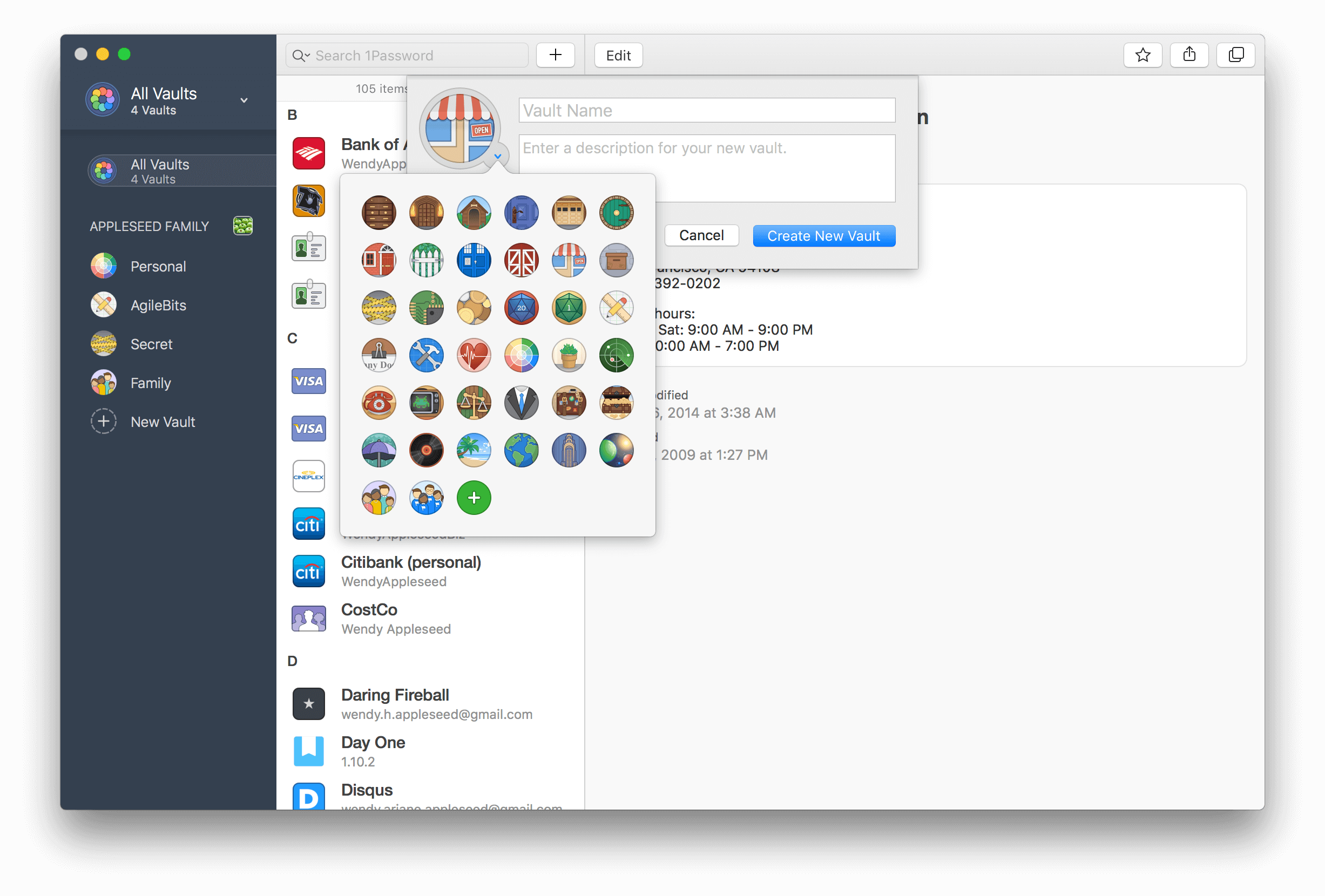1Password Create new vault - SAC Student Discount.png