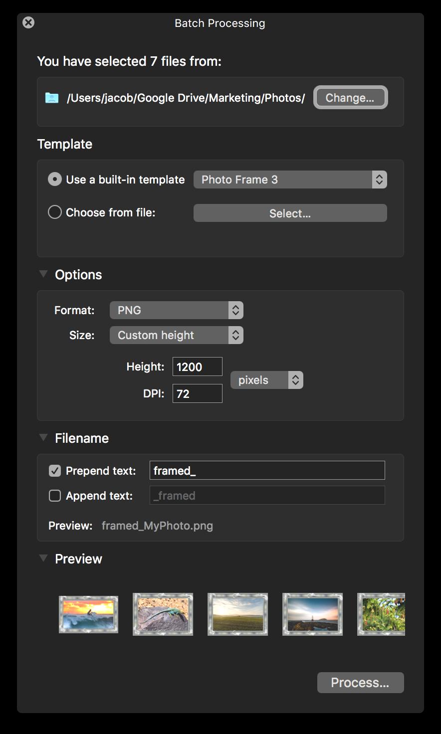 ImageFramer Batch Processing - SAC student discount.png