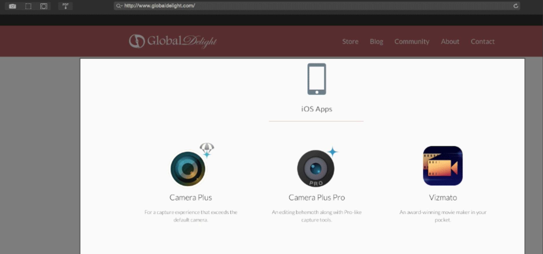 Capto Webpage captures - SAC student discount.png
