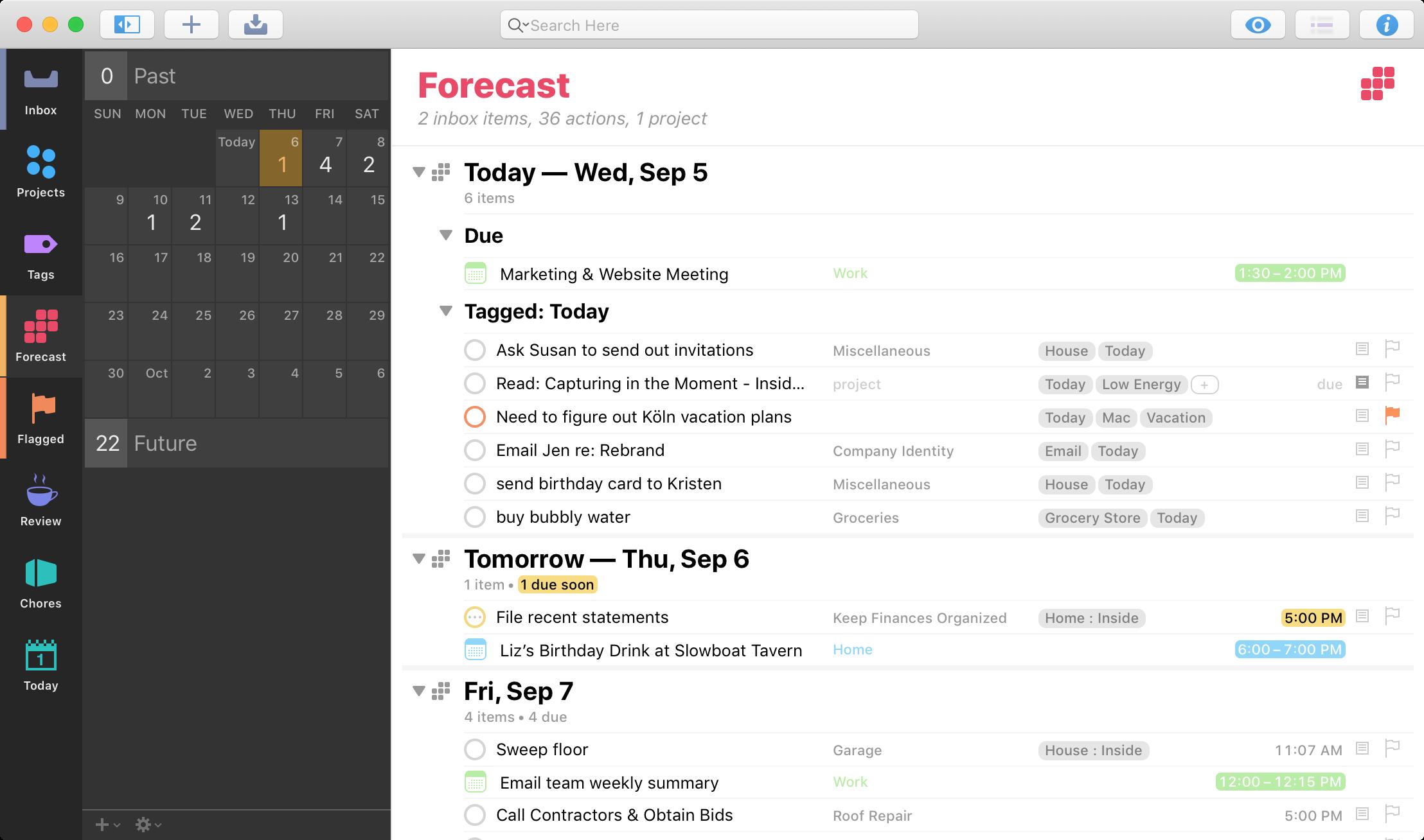 OmniFocus 3 - forecast-2 - SAC Student Discount.png