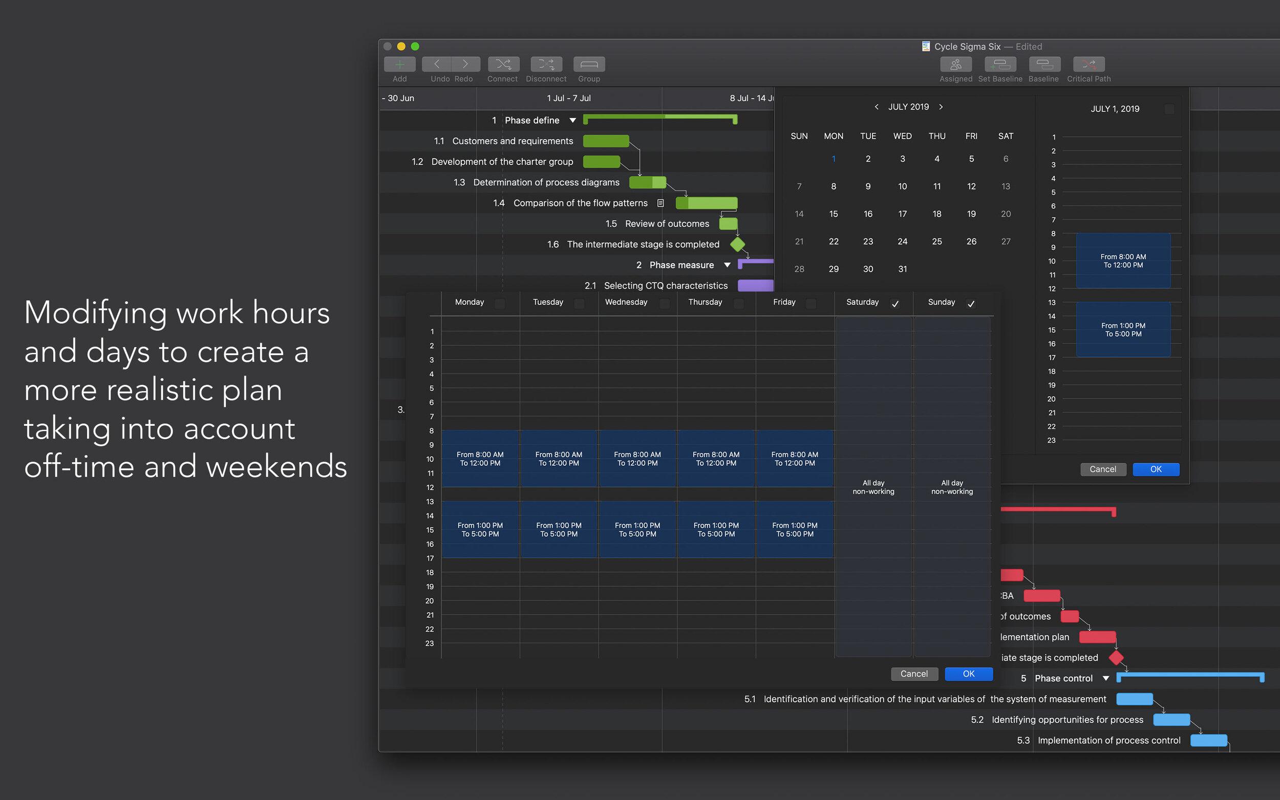 Project Office: Gantt Chart - PODark5 - SAC Student Discount.jpg