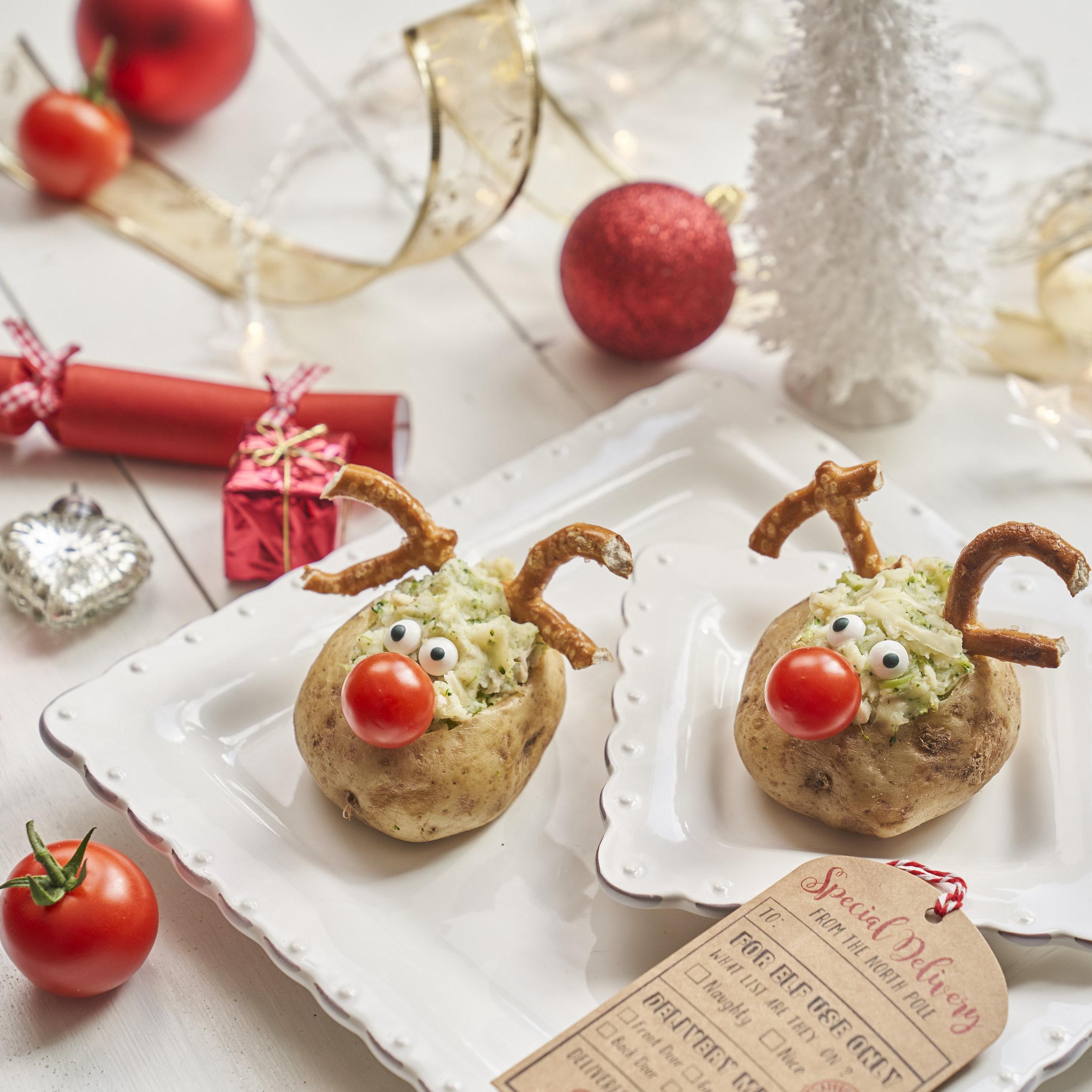 Annabel Karmel's Rudolph Baked Potatoes