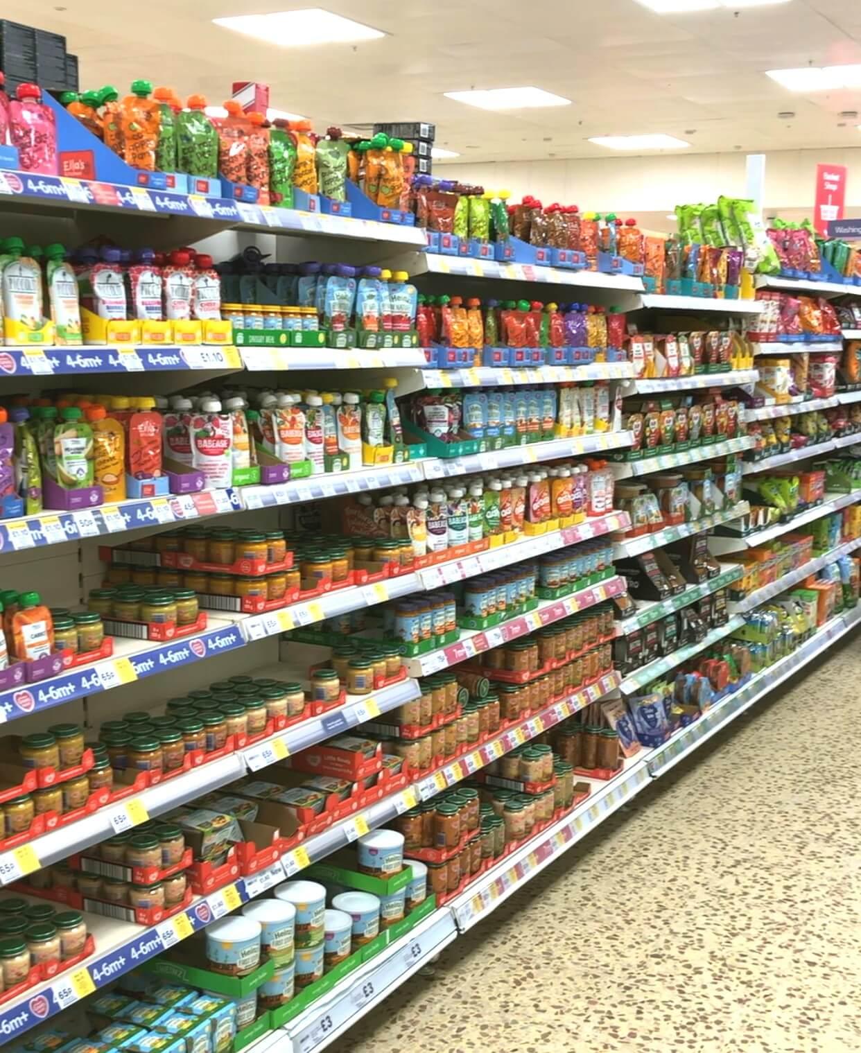 supermarket baby foods