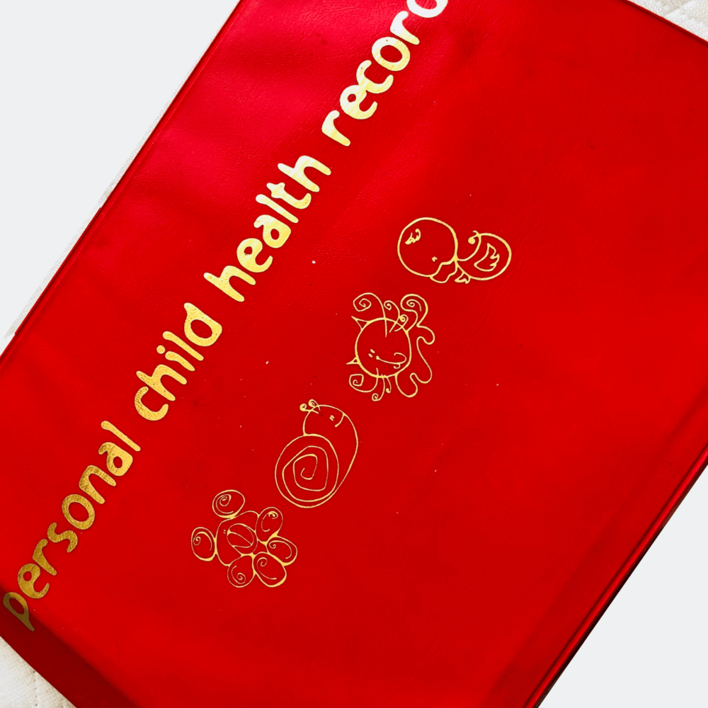 Personal Child Health Record Book by Sarah Almond Bushell - the Children's Nutritionist