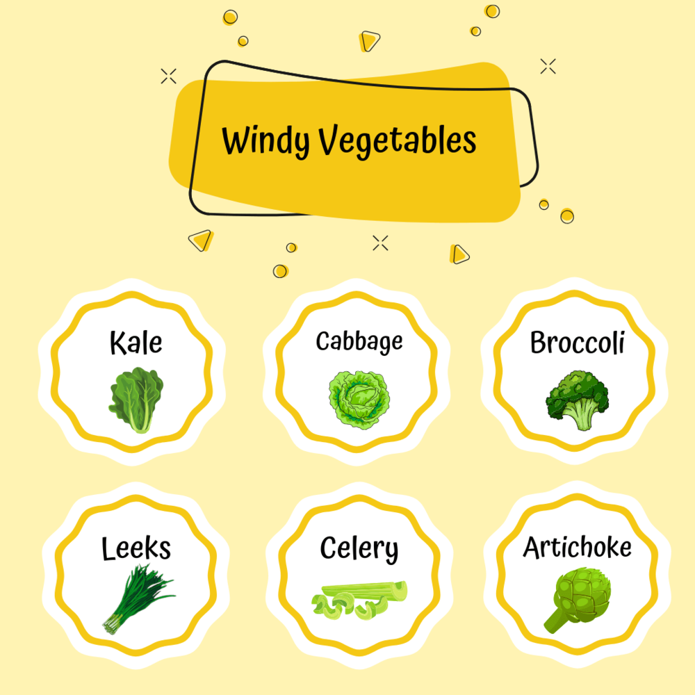 Windy Veggies you can use for your babies first meal by Sarah Almond Bushell - the Children's Nutritionist