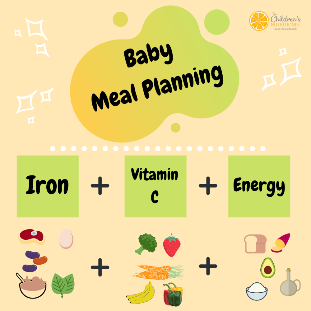 Baby Meal Planning by Sarah Almond Bushell - the Children's Nutritionist