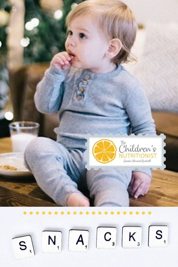 Baby led weaning snacks and 25 nutritious ideas by Sarah Almond Bushell - the Children's Nutritionist