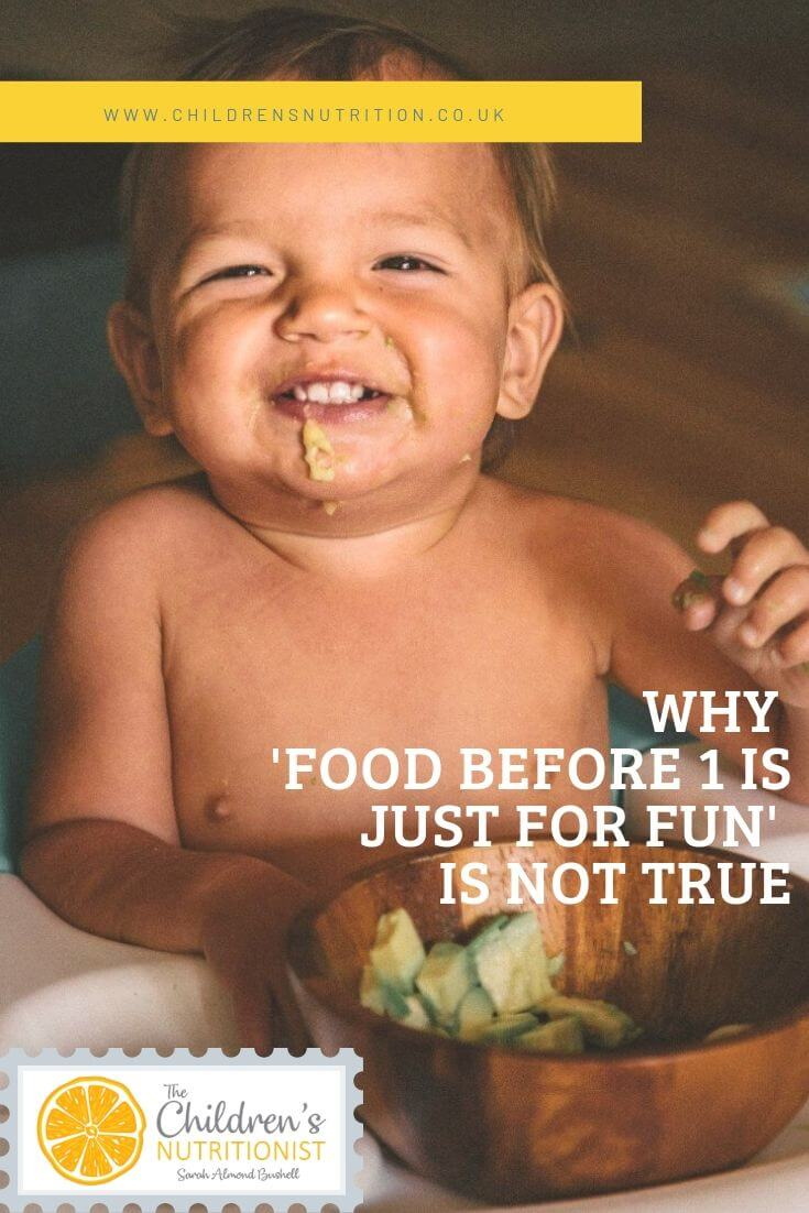 Pintrest Why 'Food before 1 is just for fun' is not true.jpg