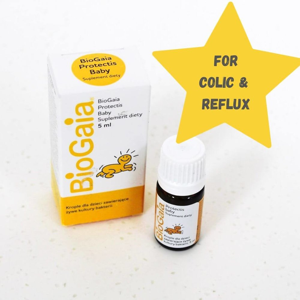 Probiotic for babies with colic and reflux