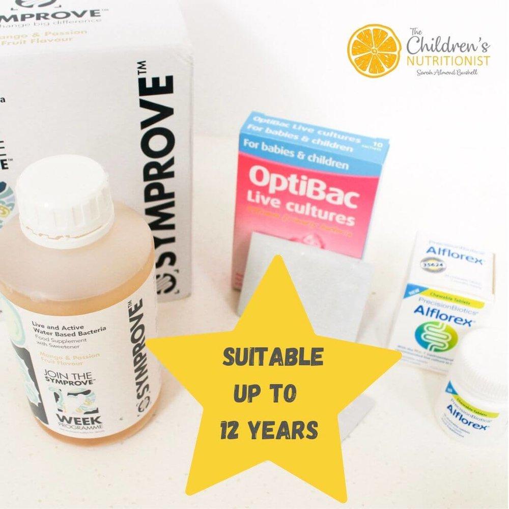 Probiotics for older children