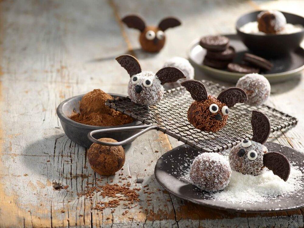 Chocolate Orange Energy Ball Bats recipe by Annabel Karmel
