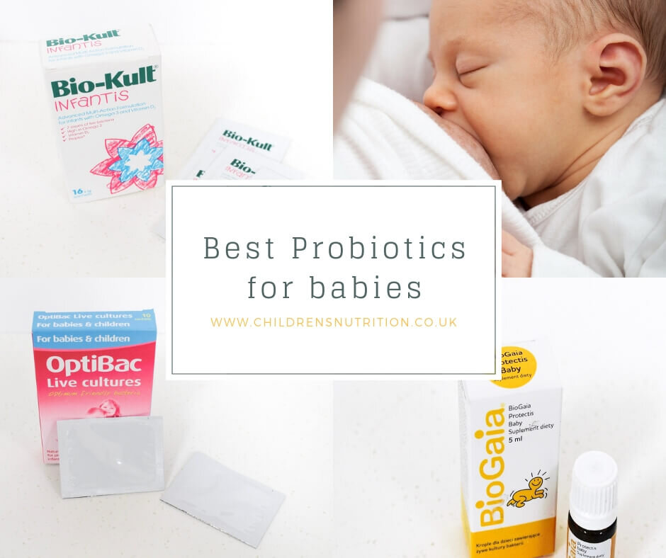 Best Probiotic for Babies by Sarah Almond Bushell - the Children's Nutritionist