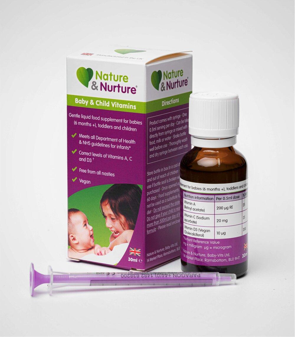 Nature & Nurture Baby & Child Vitamins