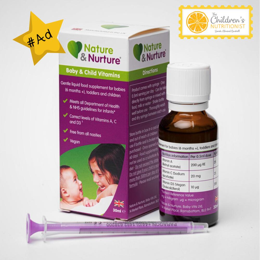 Nature & Nurture Baby Vitamins