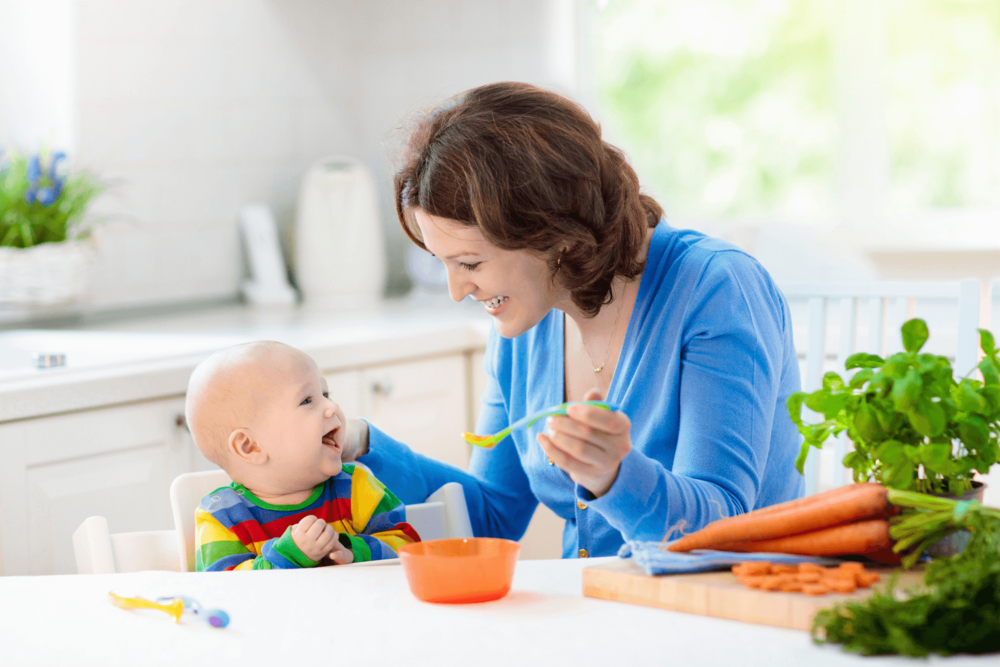What is weaning? by Sarah Almond Bushell - the Children's Nutritionist