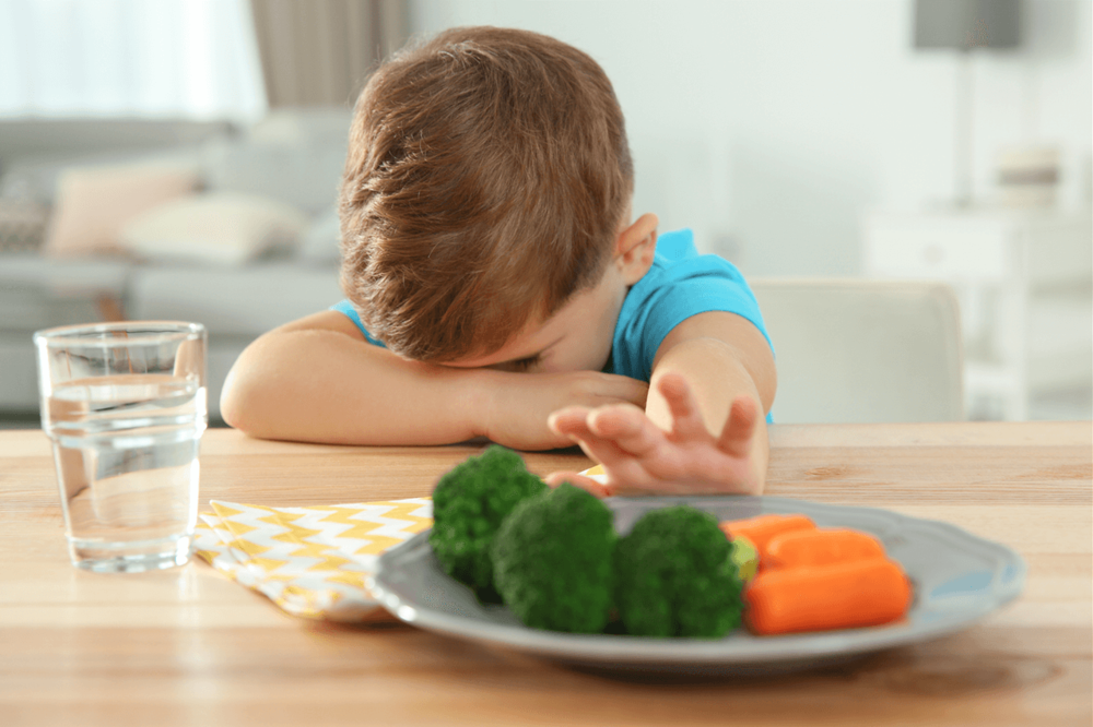 How to get a child to eat when they refuse meals by Sarah Almond Bushell - the Children's Nutritionist