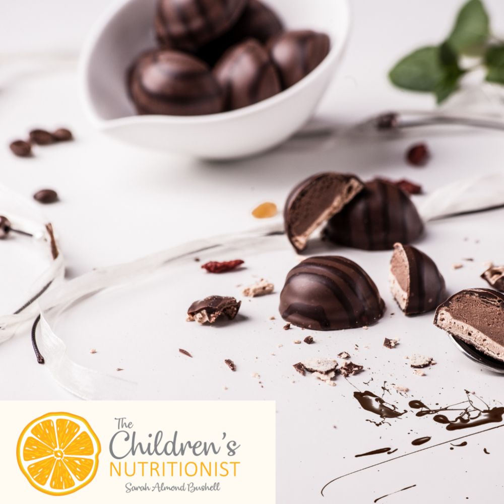 A helpful guide to when can babies have chocolate for worried parents by Sarah Almond Bushell - The Children's Nutritionist