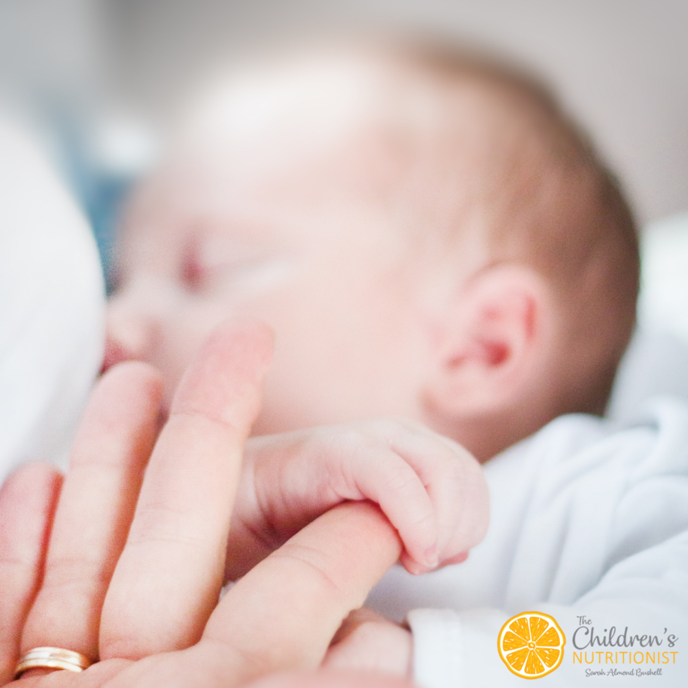 Are you curious? Can you overfeed a breastfed baby? by Sarah Almond Bushell - The Children's Nutritionist