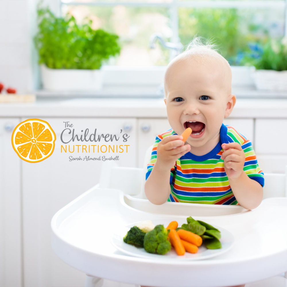 What to do if your baby is refusing to eat! by Sarah Almond Bushell - The Children's Nutritionist