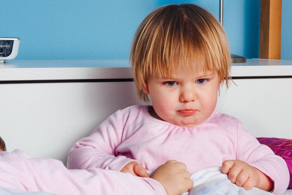 grumpy toddler