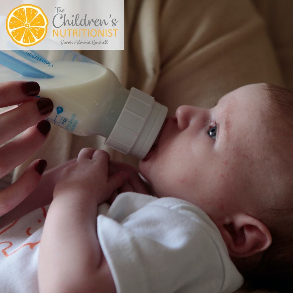 Why is my breastfed baby is refusing bottle feeding? by Sarah Almond Bushell - The Children's Nutritionist
