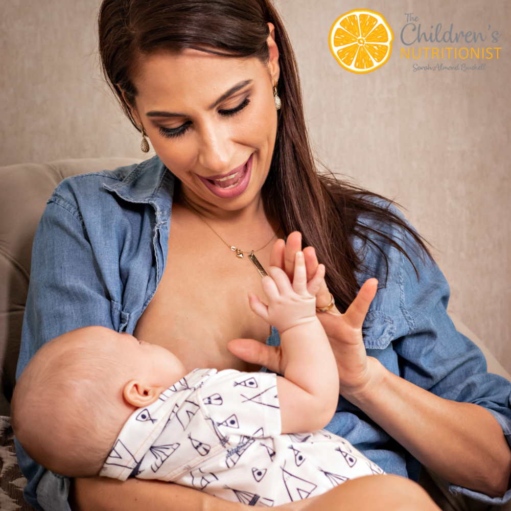 Fussy baby at the breast: Why is my baby crying? by Sarah Almond Bushell - The Children's Nutritionist